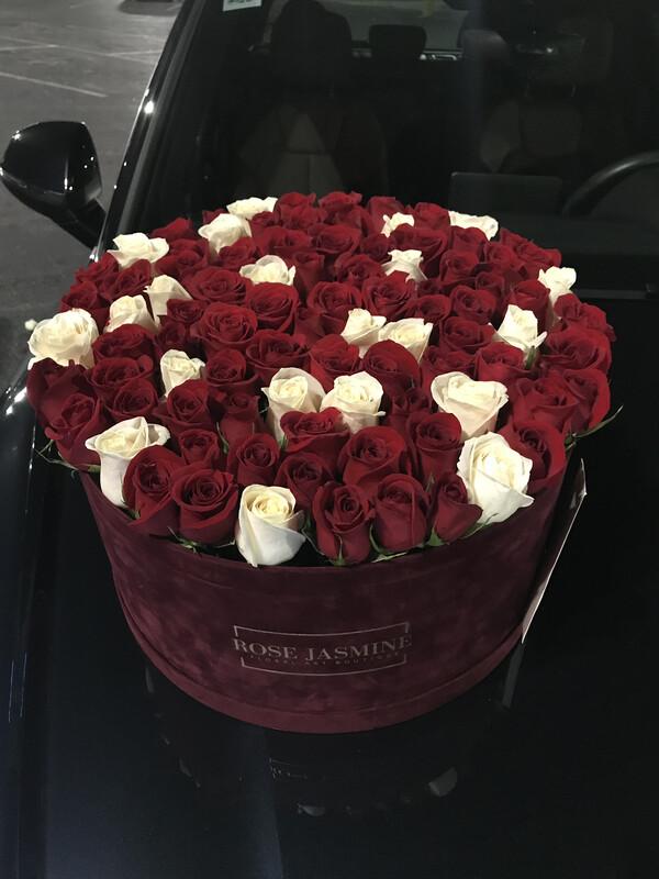 Velvet Love (Up To 100 Fresh Roses)