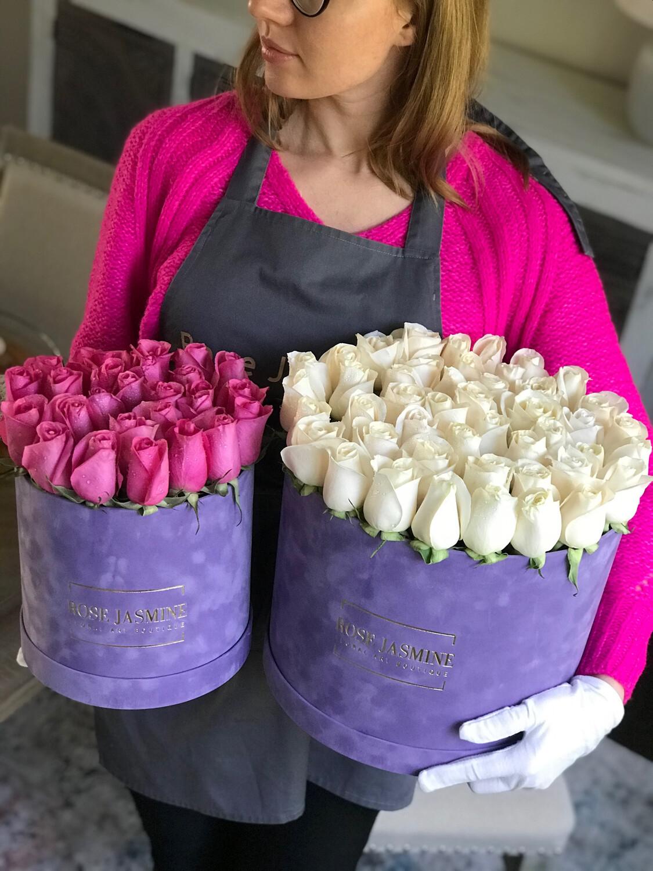 Lavender Velvet Grande! New And Trendy!