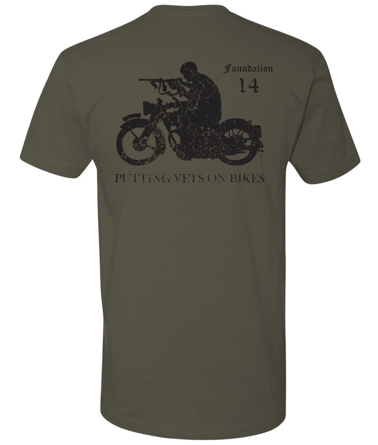 Mens Army OD Green Rider T-Shirt