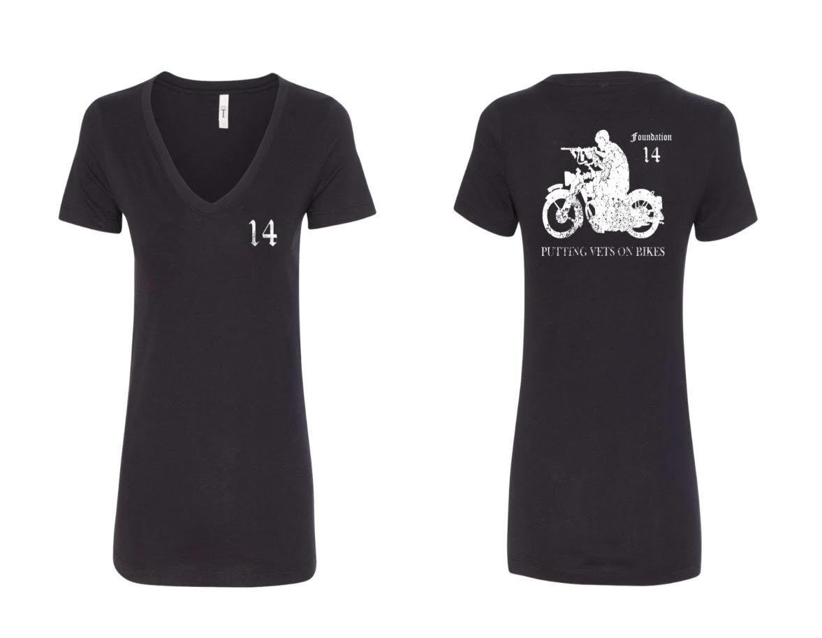 Womens V-Neck Rider T-Shirt