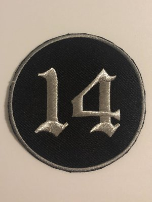 2 Inch Embroidered Support Patch - 2 Color Options