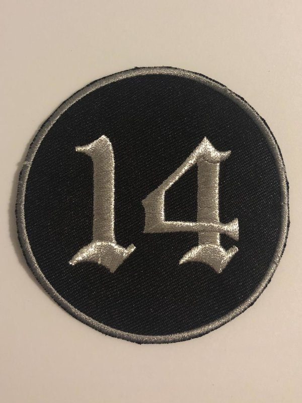 3 Inch Embroidered Support Patch - 2 Color Options