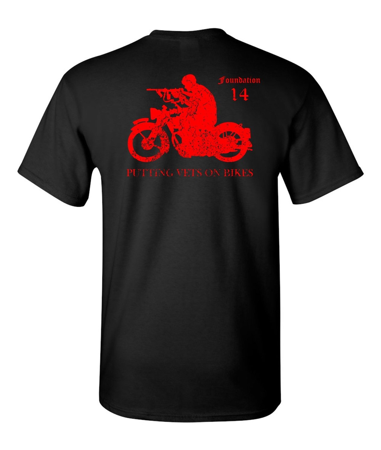 Putting Vets on Bikes - Red