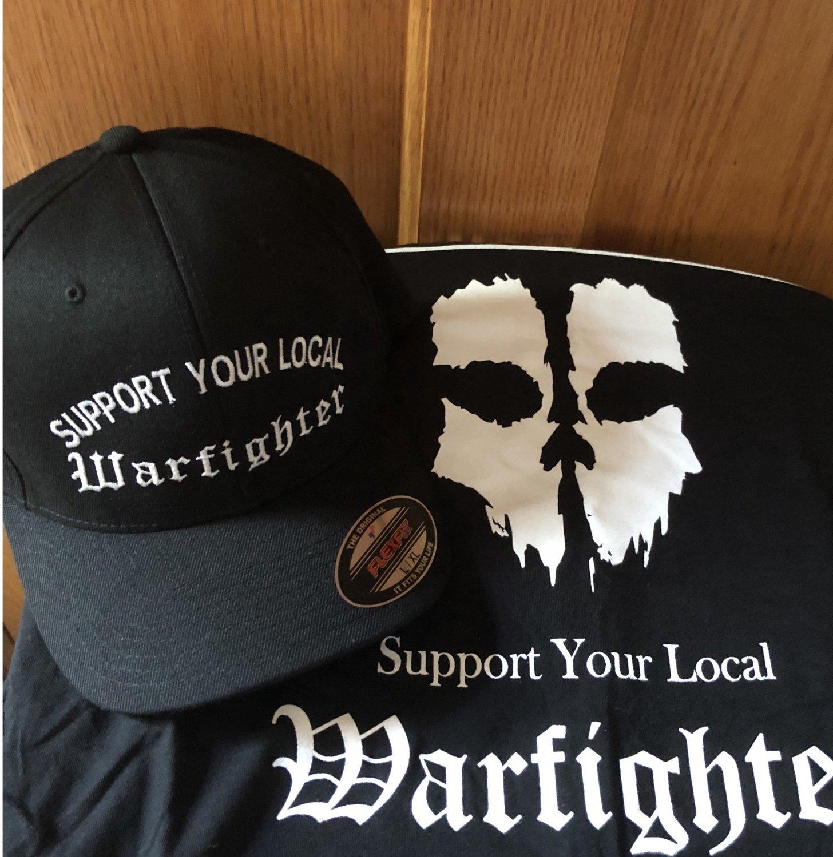 FlexFit-Support Your Local Warfighter Hat