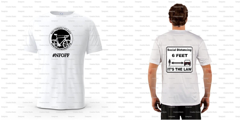BFA Social Distance 6' Law T-shirt