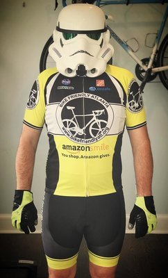 BFA Fall 2017 Cycling Kit (Jersey & Bib) Yellow
