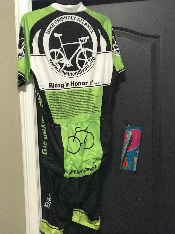 BFA 2017 Spring Cycling Kit(Bib & Jersey) Green