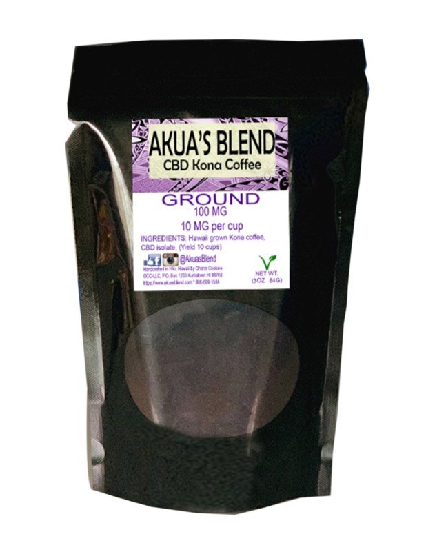 Akua's Blend Kona Coffee - Ground