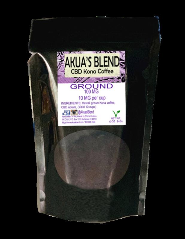 Akua's Blend Kona Coffee - Ground