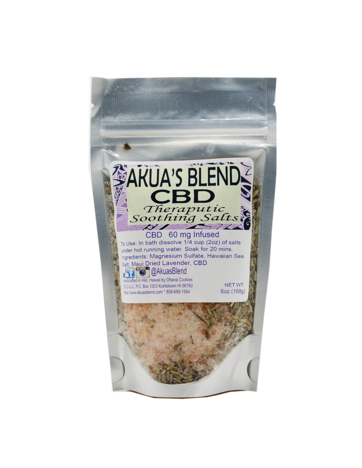 Akua Therapeutic Soothing Salts