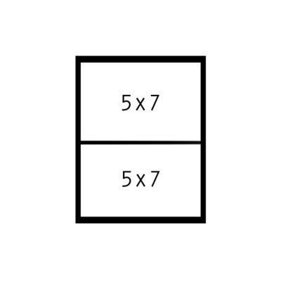 2 - 5x7s