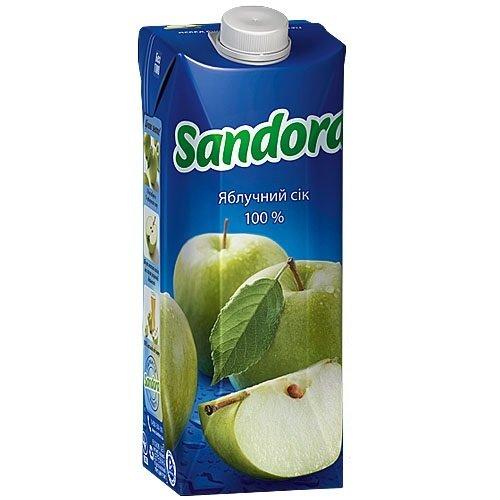 Сок Sandora Яблочный 1л