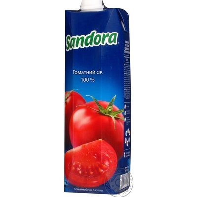Сок Sandora Томатный 1л
