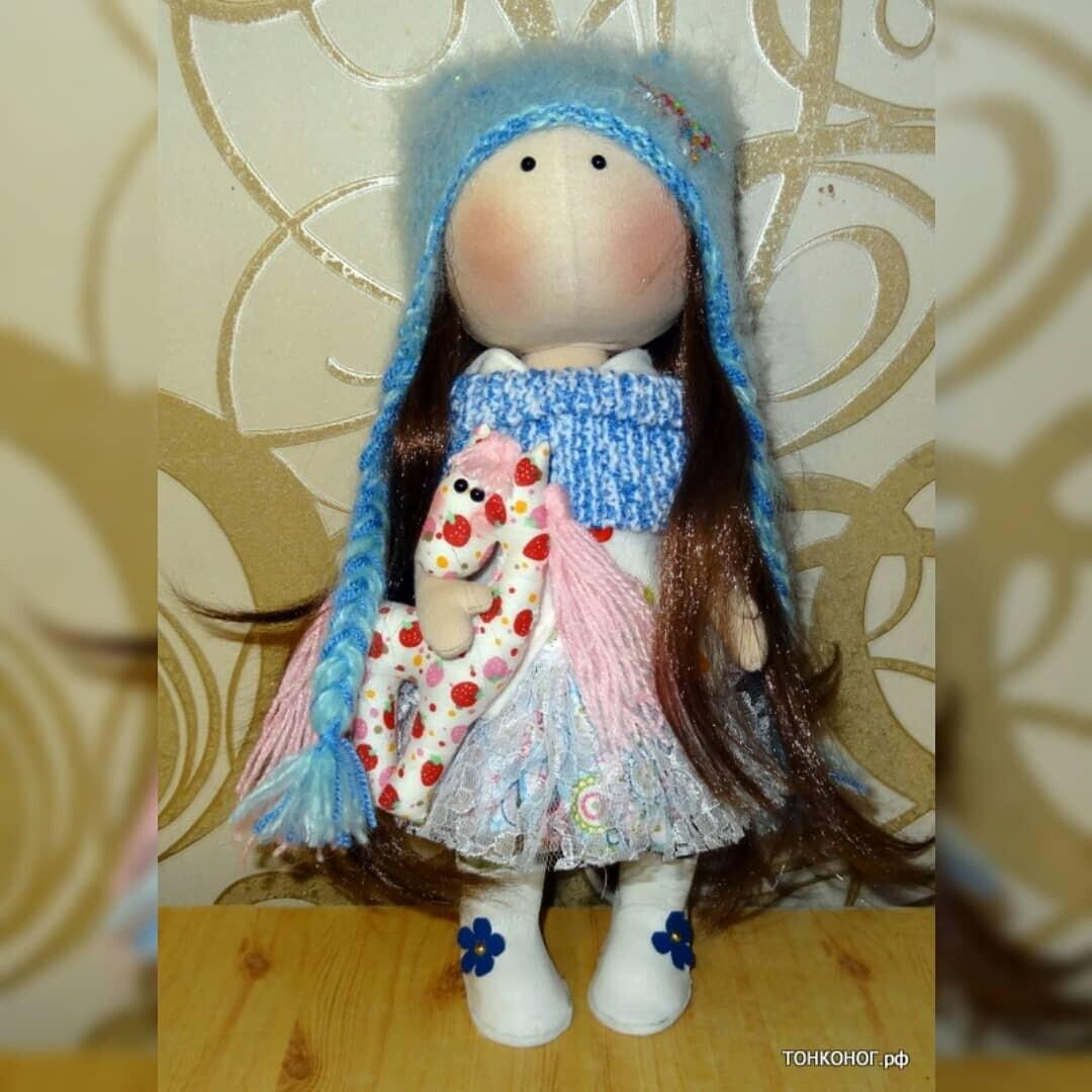 Текстильная кукла Надежда
