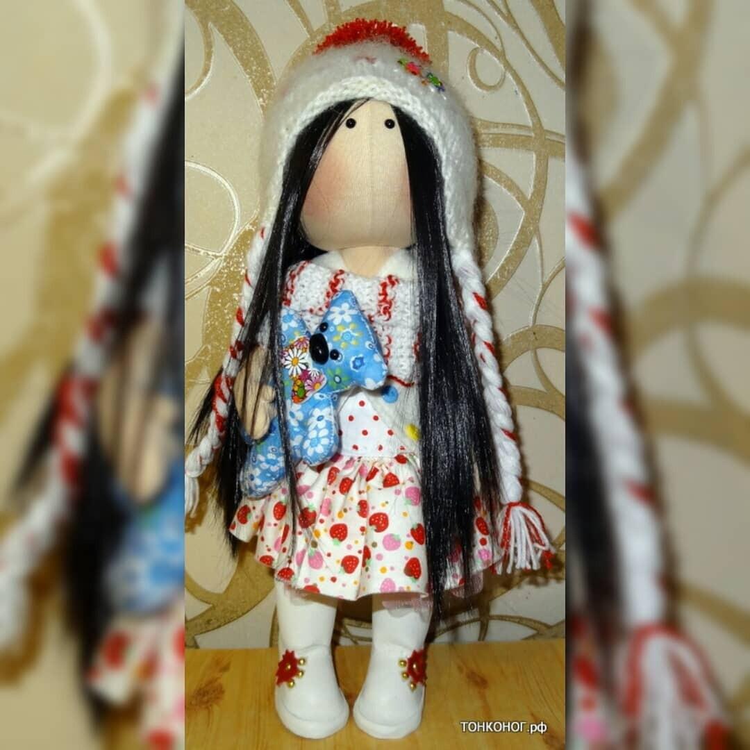 Текстильная кукла София
