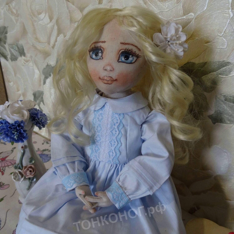 Текстильная кукла Майя