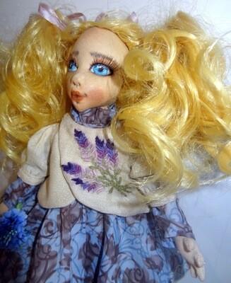 Текстильная кукла Солнце