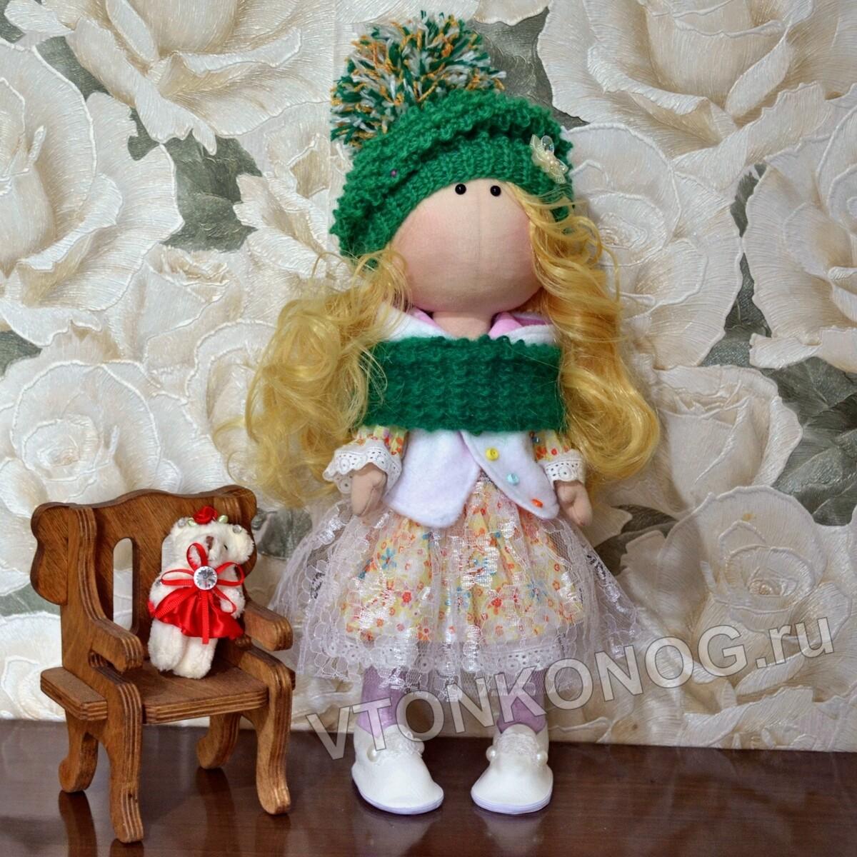 Текстильная кукла Таисия