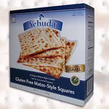 "Yehuda Gluten Free ""Matzah"" Style crackers - Original"