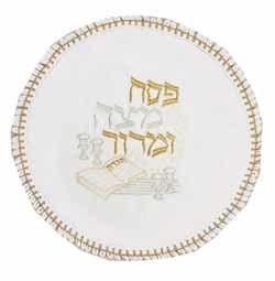 Round Matzah Cover