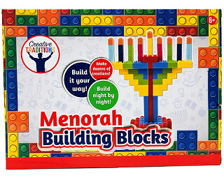 Menorah Building Blocks