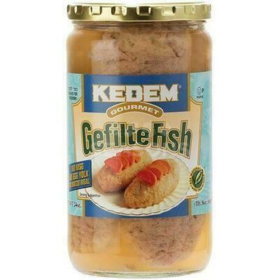 Kedem Jarred Gefilta Fish