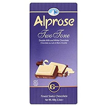 Alprose Two Tone Chocolate