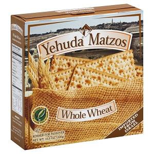 Yehuda/Sniders Wholemeal Matzah