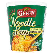 Gefen Instant Noodle Soups