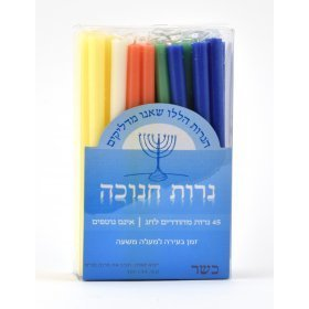 Extra Long Coloured candles