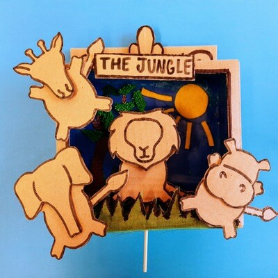 Jungle Stick Puppets and Theatre