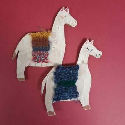 Llama Weaving Kit