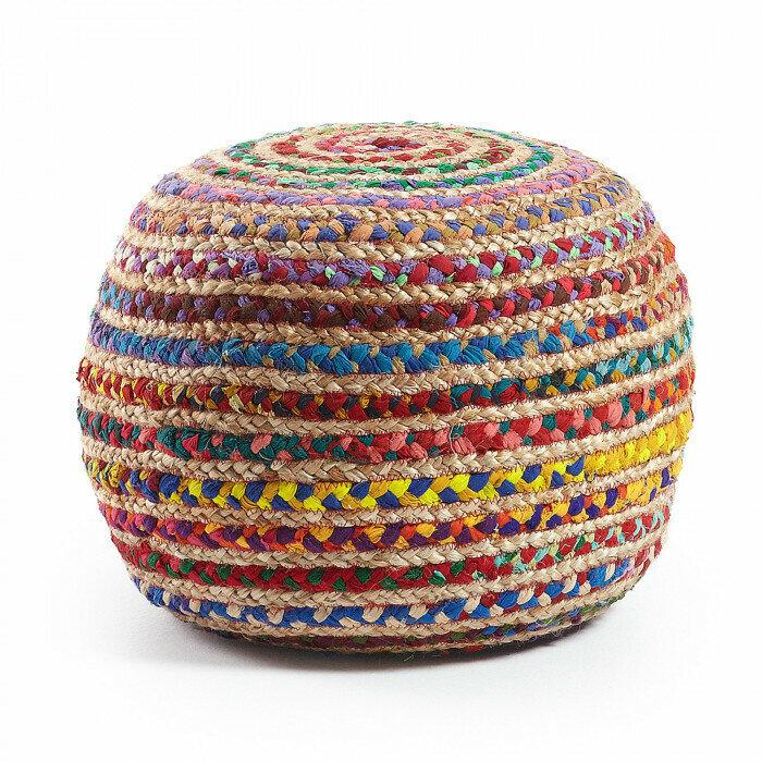Puf Saht Ø 50 cm multicolor