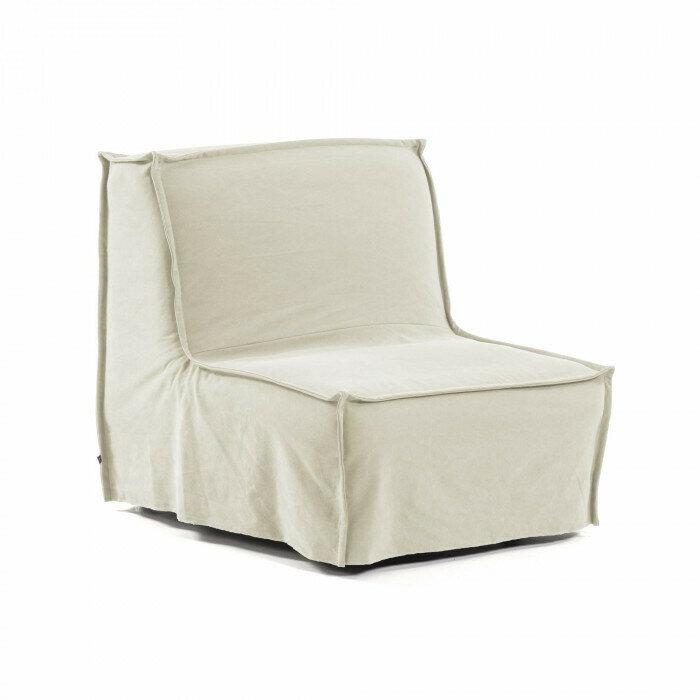 Sillón cama Lyanna 90 cm blanco
