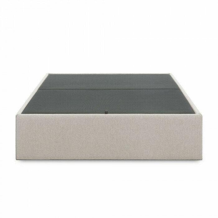 Canapé abatible Matter 90 x 190 cm beige