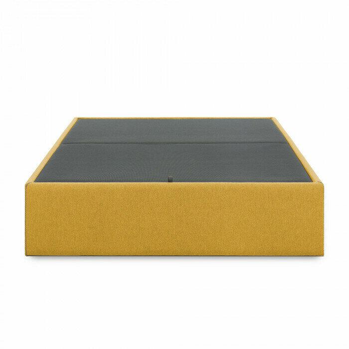 Canapé abatible Matter 90 x 190 cm mostaza