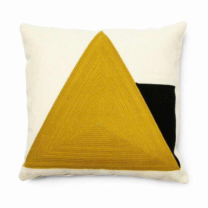 Funda cojín Sinna 45 x 45 cm amarillo
