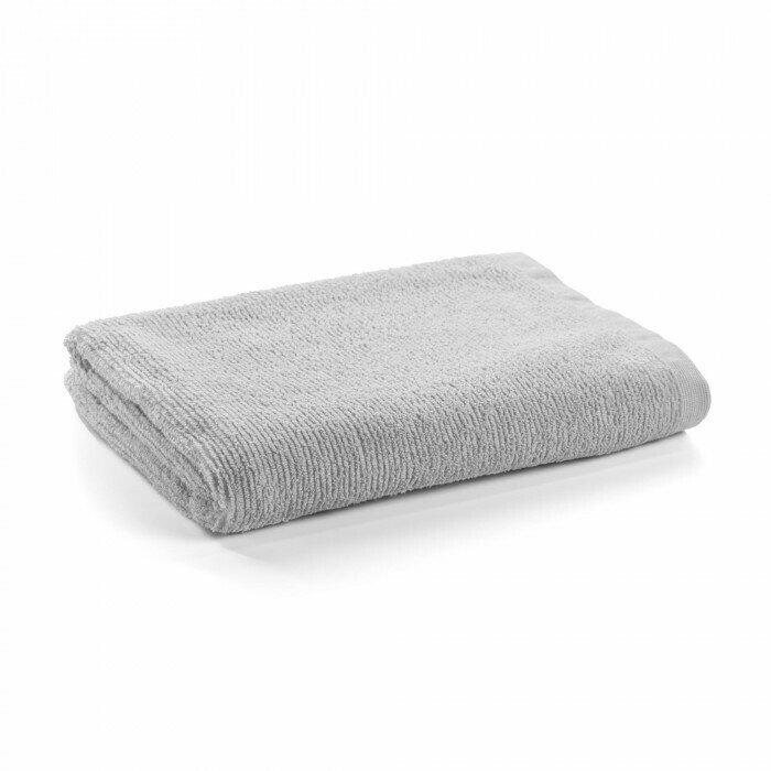 Toalla de baño Miekki grande gris claro
