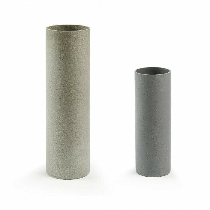 Set Marta de 2 jarrones cilindro