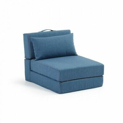 Puf cama Arty 70 x 89 (200) cm azul
