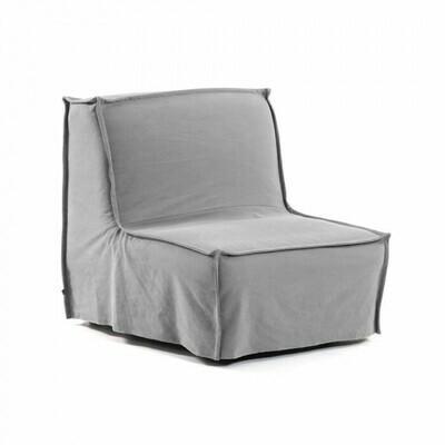 Sillón cama Lyanna 90 cm gris