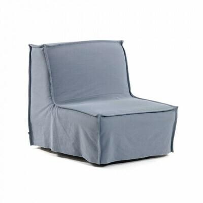 Sillón cama Lyanna 90 cm azul