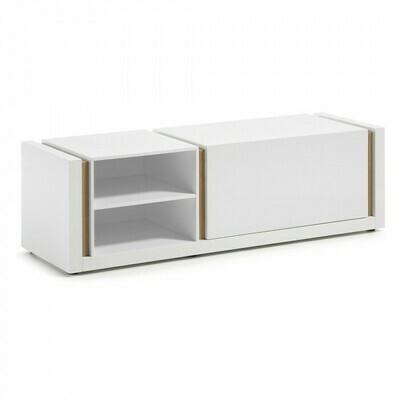 Mueble TV DE 140 x 42 cm blanco