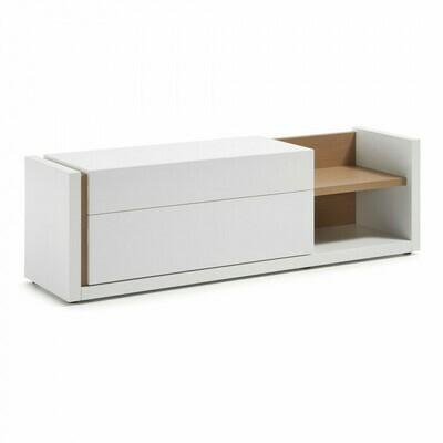Mueble TV DE 170 x 52 cm blanco