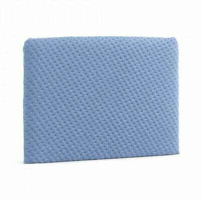 Cabecero acolchado Dyla 108 x 76 cm azul claro