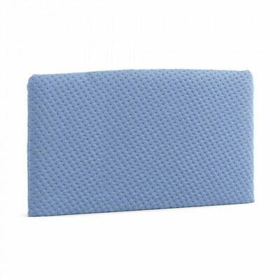 Cabecero acolchado Dyla 178 x 76 cm azul claro