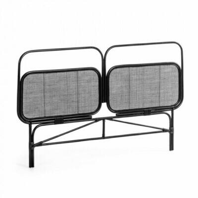 Cabecero Margaret 170 x 120 cm negro