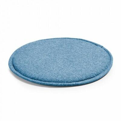 Cojín Silke azul oscuro
