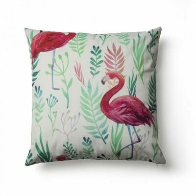 Funda cojín Flamingo