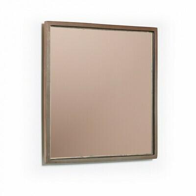 Espejo Mecata 25 x 25 cm cobre